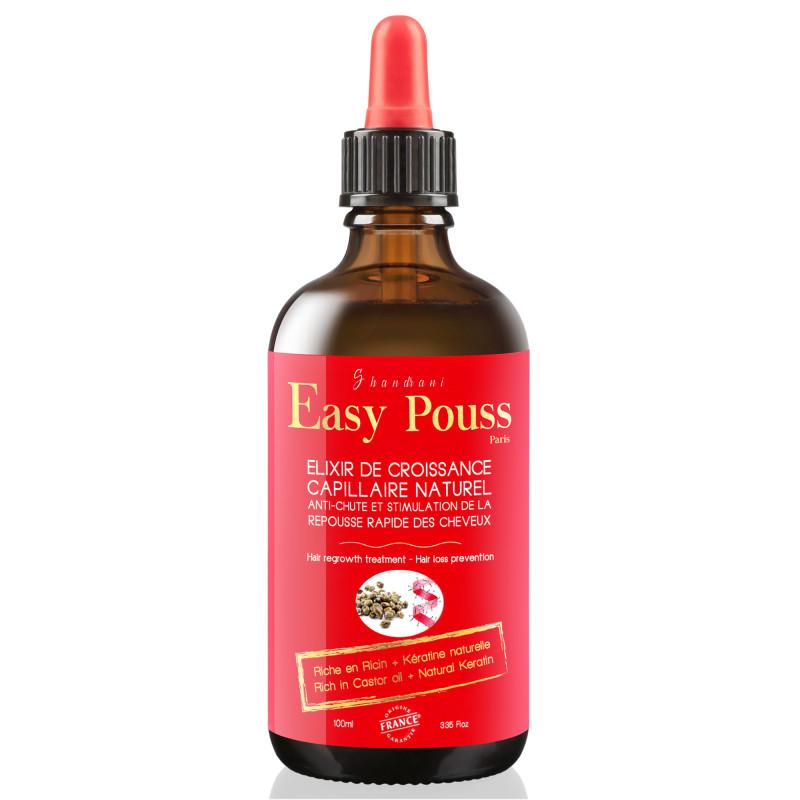 Easy pouss elixir de croissance capillaire naturel 100ml