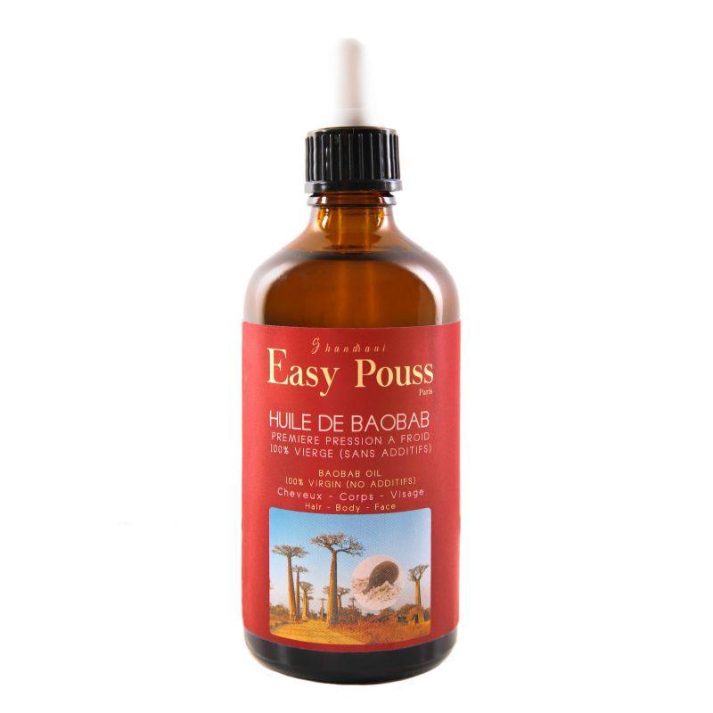 Easy pouss huile de baobab vierge du senegal 100ml