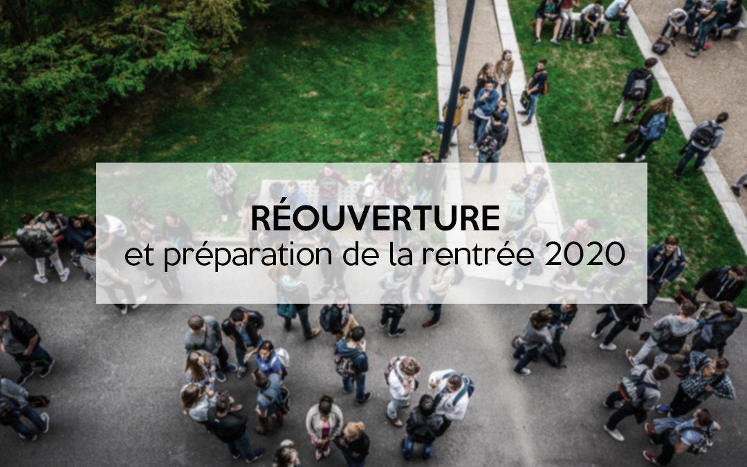 Reouverture progressive rentree 2020 1080x675